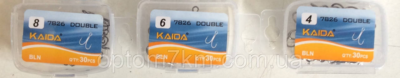 "Крючок ""Двойник"" Kaida # 5/0"