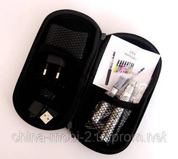 Набір - сигарета EGO-T CE4 650 маг + чохол срібло, фото 2