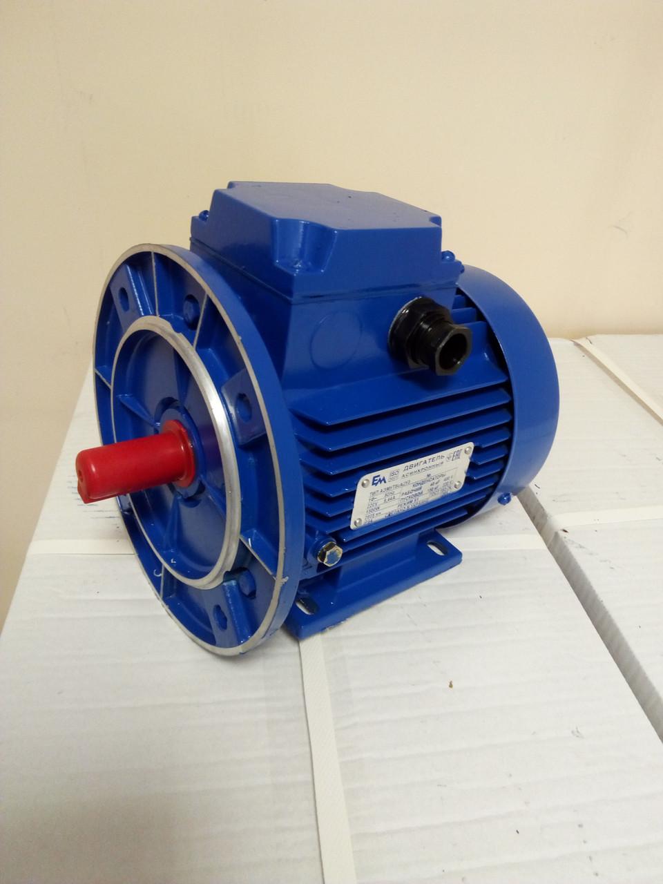 Электродвигатель однофазный 0,75 кВт 3000 об АИР  71 А2