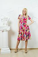 Платье летнее с цветочным принтом , фото 1