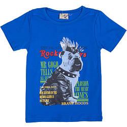 Летняя футболка для мальчиков с рисунком