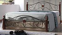 Кровать двуспальная Вивьен 160 (Vivien 160) С Onder metal
