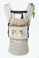"Эргономичный рюкзак ""My baby"" бежевый"