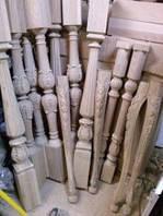 Балясины и столбы деревянные
