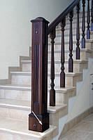 Столбы для лестниц класические