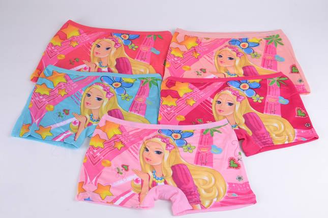 "Трусики-шорты на девочку ""Barbie 3"" (0996L)   10 шт., фото 2"