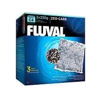 Уголь Zeo - Carb для фильтра Fluval C4, 3х130 г