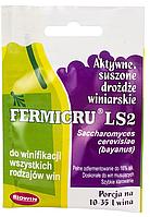 BIOWIN сухие винные дрожжи Fermicru LS2