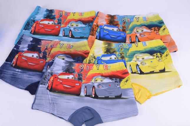 "Трусики-шорты на мальчика ""Тачки 2"" (9041L) | 10 шт., фото 2"