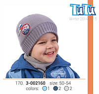 Шапка для мальчика арт. 3-002160