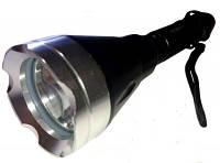 Подводные фонари, для дайвинга, фонарь подводный AJ-12, + двойная герметизация, свет под водой