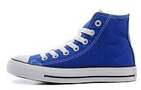 Кеды мужские Converse Chuck Taylor All Star High Sapphire Blue в синем цвете высокие