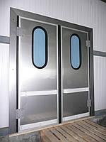 Жёсткая маятниковая дверь, фото 1