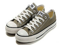 Кеды мужские Converse Chuck Taylor All Star Low Grey в сером цвете низкие