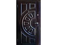 Входная бронированная дверь Зимен  Греция (темный венге, дуб золотой)