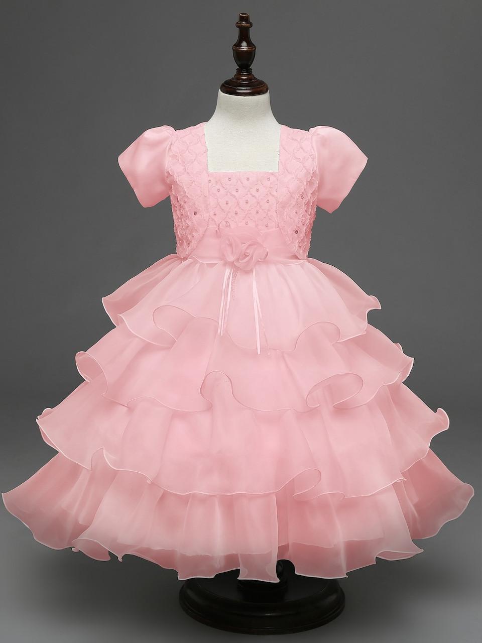 Платье с болеро детское праздничное