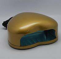 Led лампа для гель лака 3W золото
