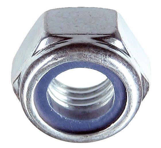 Гайка самостопорящаяся М10 DIN 985 цб 6.0