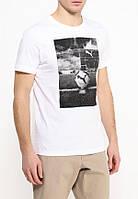 Puma мужская спортивная футболка