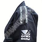 Кимоно для Бразильского Джиу Джитсу BAD BOY Черное, фото 5