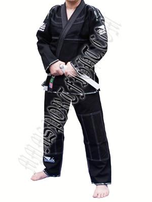 Кимоно для Бразильского Джиу Джитсу BAD BOY Черное
