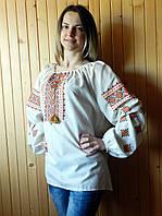 Вышитая женская блузка (012)