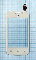 Тачскрин сенсорное стекло для Fly IQ239 Era Nano 2 (no camera) white