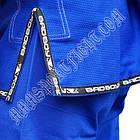 Кімоно для Бразильського Джиу Джитсу BAD BOY Синє, фото 7