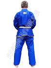 Кімоно для Бразильського Джиу Джитсу BAD BOY Синє, фото 3