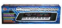 Детский синтезатор с микрофоном electronic keyboard sk-3738, фото 1