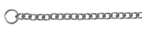 Цепь для собак рывковая Trixie (Трикси), хром 60 см\4,0 мм