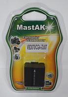 "Аккумулятор к видеокамере тм""MastAK"" Panasonic CGA-DU07H 7,4V 0,75Ah 2,0H Li-ion"
