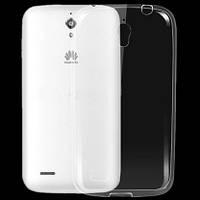 Чехол силиконовый Ультратонкий Epik для Huawei Ascend G610 Прозрачный