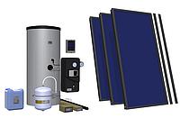 Пакетное эконом-предложение гелиосистем Hewalex с плоскими коллекторами и бойлером 300 литров