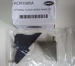 Фиксатор верхний из нержавейки KCR1085A для стекла печи Unox