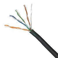 Кабель OK-net КПП-ВП (100) 4*2*0,48 (U/UTP-cat.5E-SL)