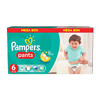 Подгузники - трусики Pampers Pants Extra Large 6 (16+ кг) MEGA BOX 88 шт (Унисекс)