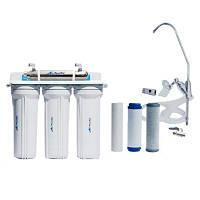 Фильтр для воды под мойку четырёхступенчатый с UV установкой FP-3E-UV