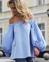 """Летняя блуза на плечах """"Настя"""""""