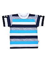 Детская трикотажная футболка  Бома р.86-104см