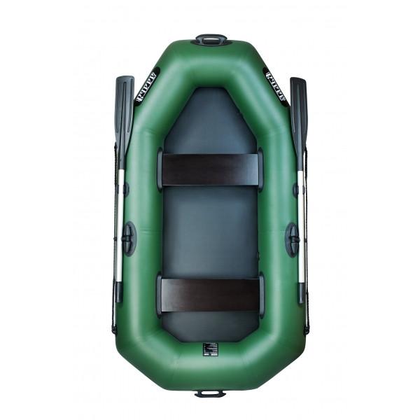 Весельная надувная лодка Ладья ЛТ-220Д (2 местная)