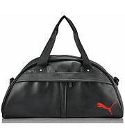 Спортивная сумка Puma Bogen черная с красным реплика
