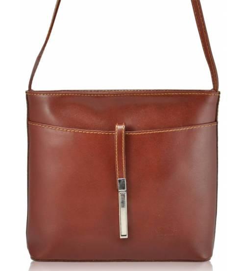 Женский кожаный клатч Rovicky TWR-34 коричневый