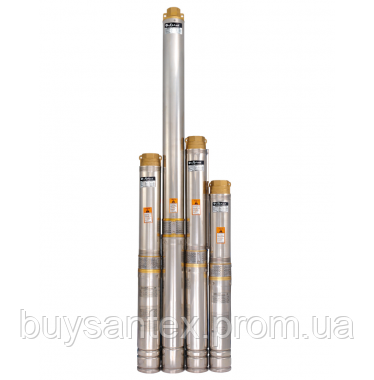 Скважинный насос 100QJ 505-0.75 нерж. + пульт, фото 2