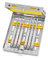 Набор остеотомов - расширителей места имплантации, вогнутые, прямые, Medesy, 1300/KIT