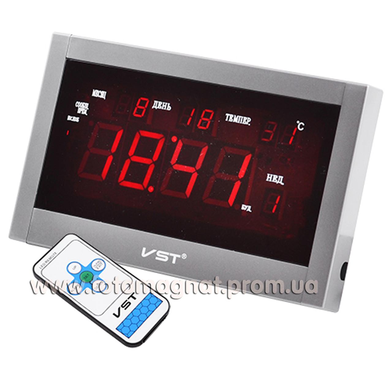 Говорять мережеві годинник VST 771 Т-1 — Настільне і настінне кріплення