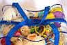 Сумка в роддом/для игрушек (синий), фото 5