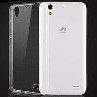 Чехол силиконовый Ультратонкий Epik для Huawei Ascend G630 Прозрачный