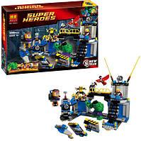 Конструктор Bela 10241 Супергерои Халк разрушает лабораторию, 398 деталей