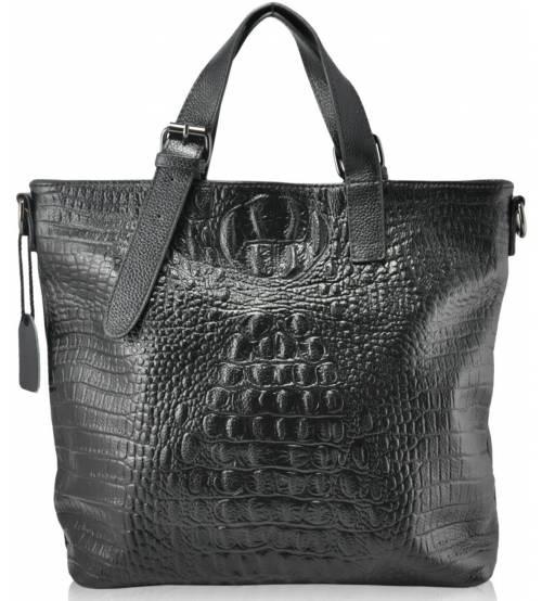 Женская кожаная сумка 3380 черная